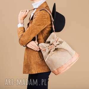 na ramię yocca - torba worek orzech, listonoszka, worek, prezent, wyjątkowa, modna