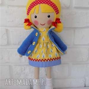 Prezent MALOWANA LALA AGATKA, lalka, zabawka, przytulanka, prezent, niespodzianka
