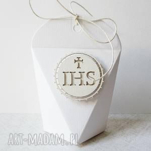 komunia - pudełeczka podziękowania, zaproszenie, komunia