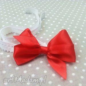 opaska kokardka na gumce dla dziewczynki - dziewczynka, prezent
