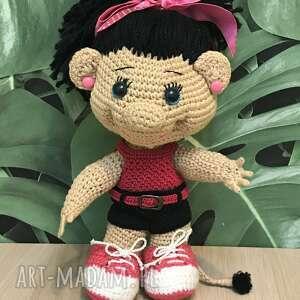 Szydełkowa lalka - trollinka lalki asiek1 lalka, laleczka