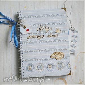 Notes/Pamiętnik/ Na pierwsze Słowa Maluszka, dziecko, pamiętnik, zeszyt, prezent