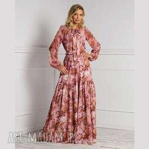 sukienka gaja maxi sybilla, maxi, długa sukienka, na jesień
