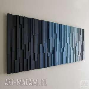 mozaika 3d, obraz drewniany the eight mountain, wallart, mozaika, modern