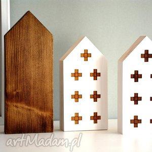 dekoracje domki drewniane, domki, domek, plusy, drewniany, drewna, skandynawski
