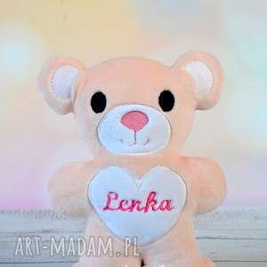 Miś przytulanka Lenka, miś, pluszak, zabawki, imię, personalizowany