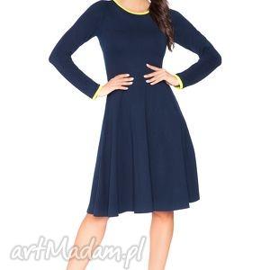 rozkloszowana sukienka f_7 - rawear, sportowa, dresowa, wygodna, midi