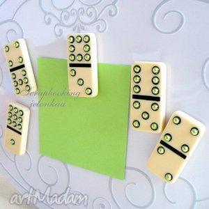 Domino magnesy #5 jelonkaa domino, magnesy, lodówka, tablica,