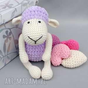 Prezent Owieczka Matylda, dziecko, zabawka, prezent, przytulanka, maskotka, urodziny