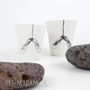 porcelanowy kubek do herbaty - ceramika artystyczna, kubek porcelanowy