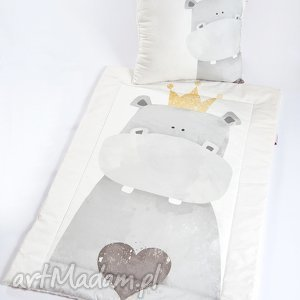 kocyk minky - hipcio 75x100 cm, kocyk, kołderka, minky