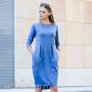 zygzak gentle sukienka dresowa, sukienka, elegancka, klasyka ubrania