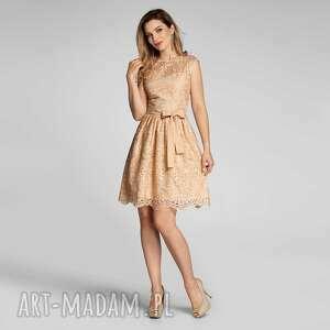 sukienka lexie mini apollonia, wieczorowa sukienka, mini, koronka