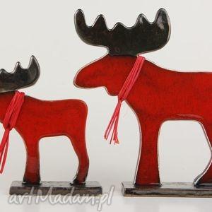 Łoś świąteczny - handmade