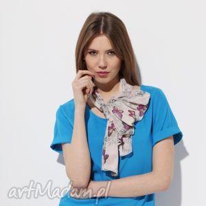 spring scarf, wiosna, szyfon, lato, motyl, moda