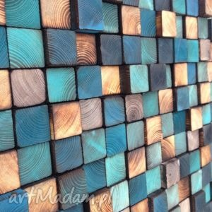 mozaika drewnianan na zamÓwienie - mozaika, obraz, płaskorzeźba, drewniana