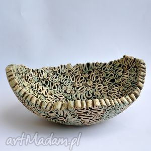 unikalne, ceramika fantazyjna misa, patera, ceramika