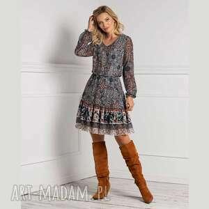 sukienki sukienka river mini nevada, mini, rozkloszowana