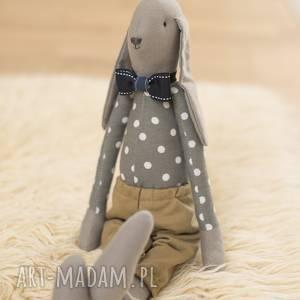 maArt - królik tilda - bajgiel, bawełna, dla dziecka, święta, prezent, ozdoba