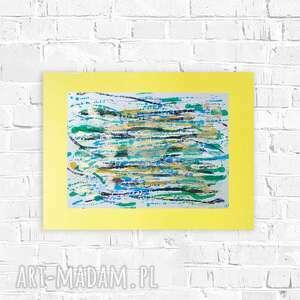 abstrakcyjna grafika na ścianę, minimalistyczna abstrakcja do pokoju, nowoczesna