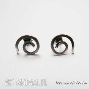 luna 3 - kolczyki srebrne, srebro, kolczyki, venus, biżuteria, luna, oksyda