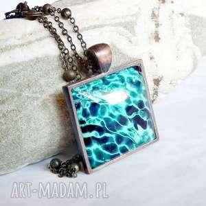przepiękny naszyjnik ocean - wyjątkowy, sliczny, prezent morski