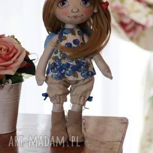 handmade dekoracje anioł - lalka kolekcjonerska
