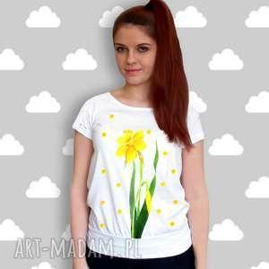 malowana bluzka - komfort na lato - bawełna certyfikowana 100, bluzka, koszulka