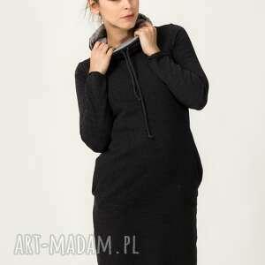 sukienka sportowa kaja-5, modna, wygodna, elegancka, sportowa, dresówka, ciepła