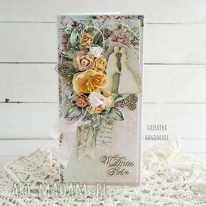 kartka ślubna w pudełku 637, wesele