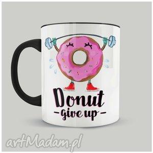 Prezent Kubek Donut give up , personalizacja, kubki, donut, prezent, idealny