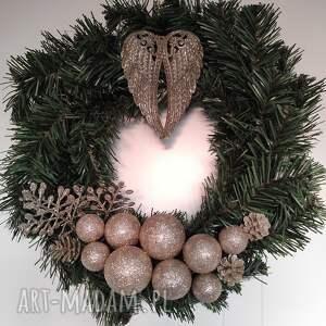 handmade święta prezenty wianek świąteczny