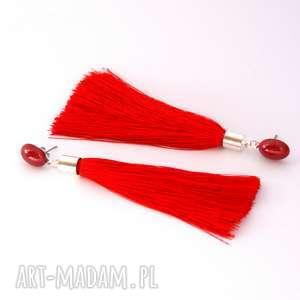 świąteczny prezent, cahaya - czerwone chwosty, sztyfty, wesele, długie