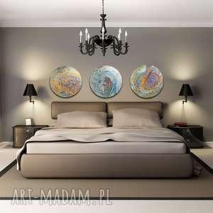 tryptyk geograficzny 13, planeta, abstrakcja, kosmos, aleksandra-semeniuk, malarstwo