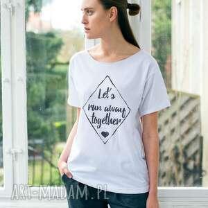 RUN AWAY Oversize T-shirt, oversize