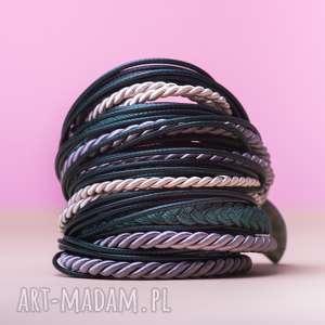 WHW Big Mess - Agate Treasure, sznurkowa, sznureczkowa, zwijana, zawijana, warkocz,