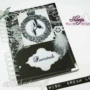 pamiętnik- jezioro łabędzie, pamiętnik, notes, notatnik, łabędź, balet, zapiśnik