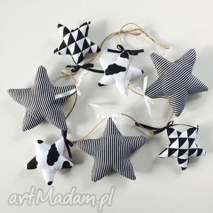 girlanda gwiazdki - ,girlanda,gwiazdki,dekoracja,pokój,stars,black,
