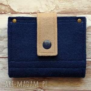 mały filcowy portfel, portmonetka, filcowa, zakupy, upominek, mini, unikalny