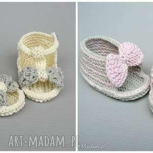 unikalny, buciki zamowienie p ani, buciki, dziewczynka, niemowlę, sandały, lato