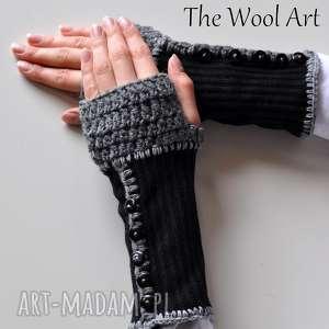 ręcznie zrobione rękawiczki rękawiczki mitenki