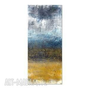 plakaty tundra, abstrakcja, obraz ręcznie malowany