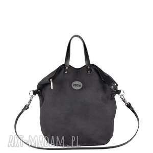 Plecak Torba 2 in 1 black skin, torba, plecak, mana-mana, ekoskóra
