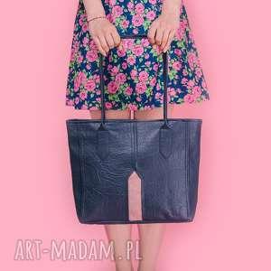 pillar medium - torebka na ramię grant i pudrowy róż, pakowna, elegancka