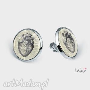 świąteczny prezent, kolczyki sztyfty herz, serce, anatomia, ciało, organ