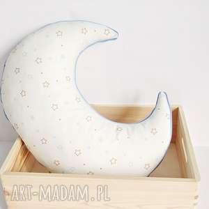poduszka księżyc w gwiazdki, poduszka-księżyc, poduszka-w-gwiazdki