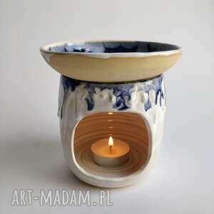 ceramika kominek ceramiczny 1, prezent, kominek, że świeczką