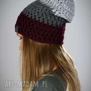 triquence 12, czapka zimowa, czapka na zimę, damska, kolorowa, męska