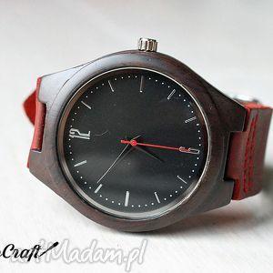 drewniany zegarek ebony classic, heban, zegarek, drewniany, klasyczny