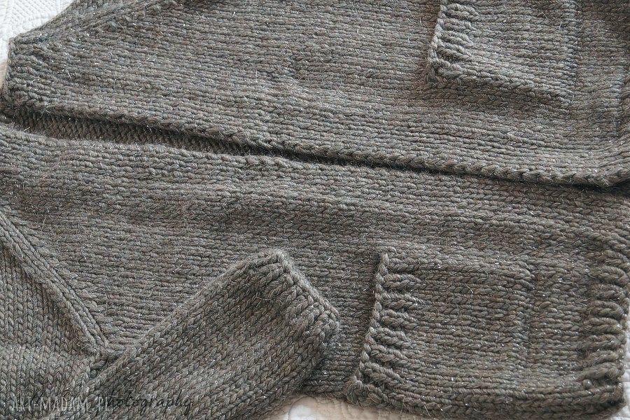 swetry kardigan z metaliczną nitką